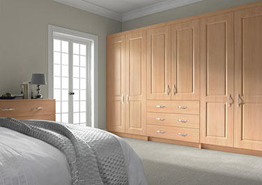Ticehurst Beech Bedroom Doors