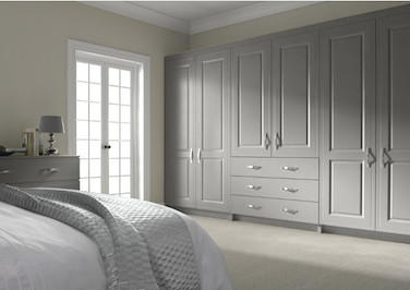 Ticehurst Light Grey Bedroom Doors
