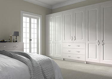 Ticehurst Silk White Bedroom Doors