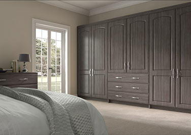 Wadhurst Avola Grey Bedroom Doors