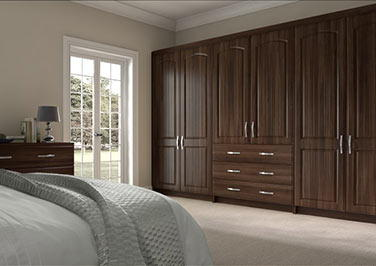 Wadhurst Dark Walnut Bedroom Doors