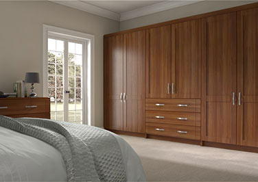 Washington Medium Walnut Bedroom Doors