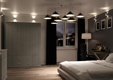 Washington Pebble Grey Bedroom Doors