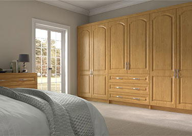 Westfield Pippy Oak Bedroom Doors