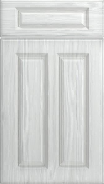 Amberley Avola White Kitchen Doors