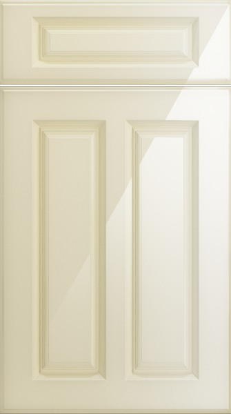 Amberley High Gloss Cream Kitchen Doors