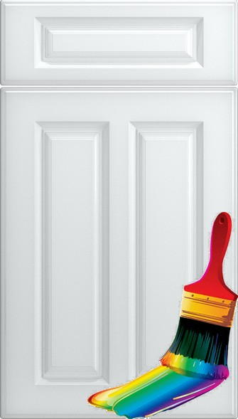 Amberley Paintable Vinyl Kitchen Doors