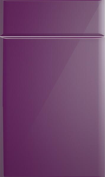 Brighton High Gloss Aubergine Kitchen Doors