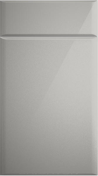 Brighton High Gloss Light Grey Kitchen Doors