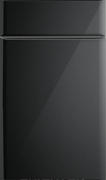 Brighton High Gloss Metallic Black Kitchen Doors