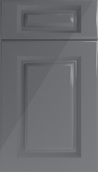 Buxted High Gloss Anthracite Kitchen Doors