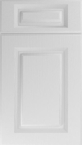 Buxted Legno White Kitchen Doors