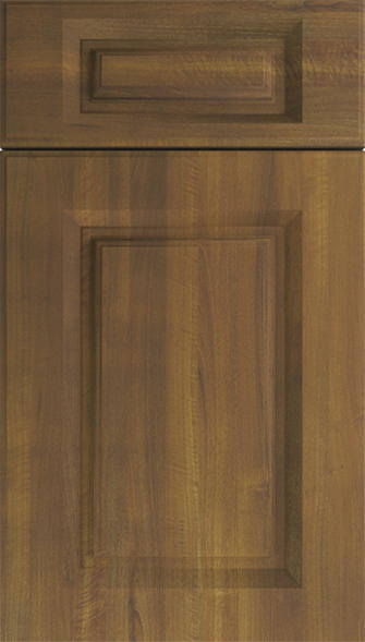 Buxted Medium Walnut Kitchen Doors
