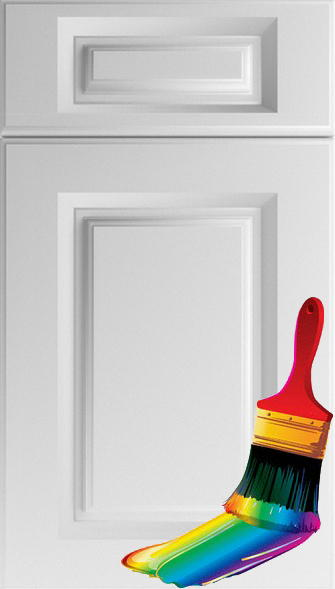Buxted Paintable Vinyl Kitchen Doors