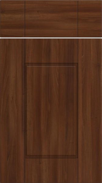 Fairlight Dark Walnut Kitchen Doors