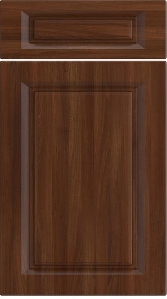 Fontwell Dark Walnut Kitchen Doors