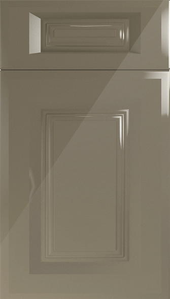 Fontwell High Gloss Graphite Kitchen Doors From Made To Measure