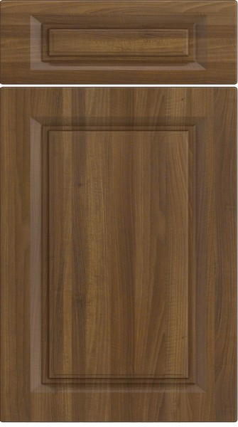 Fontwell Medium Walnut Kitchen Doors