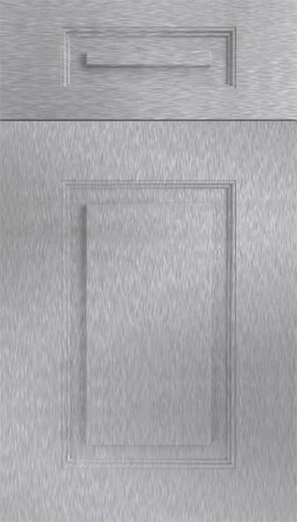 Goodwood Brushed Steel Kitchen Doors · Goodwood Brushed Steel Kitchen Doors ...  sc 1 st  Kitchen Door Workshop & Goodwood Brushed Steel Kitchen Doors From £4.16 Made to Measure.