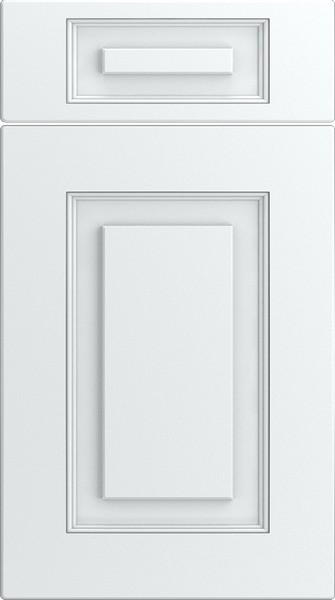 Goodwood Legno White Kitchen Doors