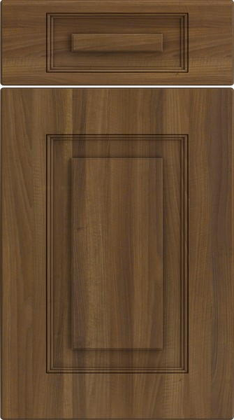 Goodwood Medium Walnut Kitchen Doors; Goodwood Medium Walnut Kitchen Doors ... & Goodwood Medium Walnut Kitchen Doors | Made to Measure from £4.16