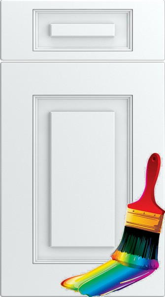Goodwood Paintable Vinyl Kitchen Doors