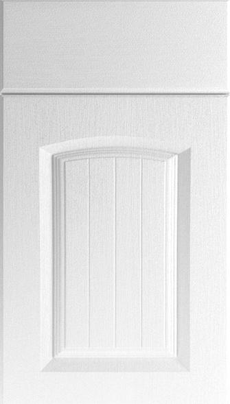 Hartfield Super White Ash Kitchen Doors