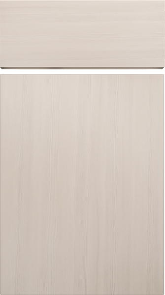 Lewes Avola White Kitchen Doors