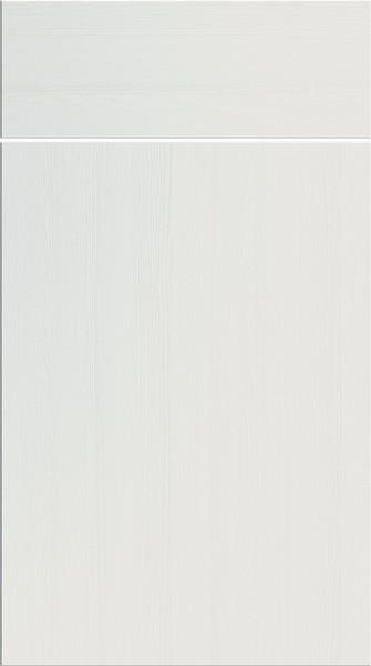 Lewes Super White Ash Kitchen Doors