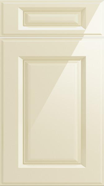 Midhurst High Gloss Cream Kitchen Doors