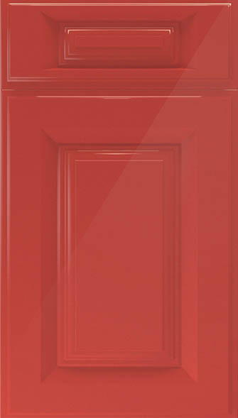 midhurst high gloss red kitchen doors from made to