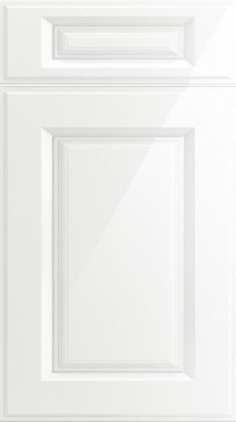 Midhurst High Gloss White Kitchen Doors