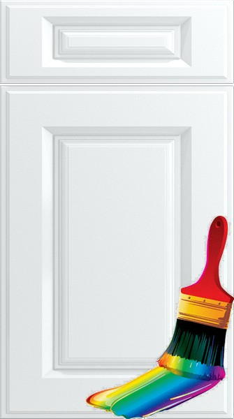 Midhurst Paintable Vinyl Kitchen Doors
