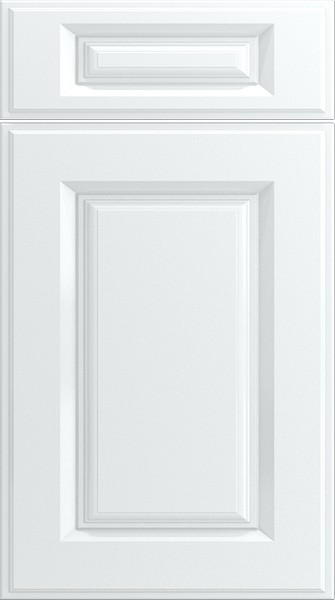 Midhurst Silk White Kitchen Doors