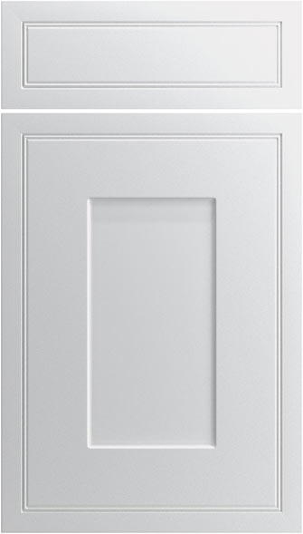 Singleton Legno White Kitchen Doors