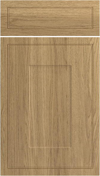 Singleton Lissa Oak Kitchen Doors