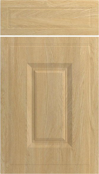 Ticehurst Montana Oak Kitchen Doors