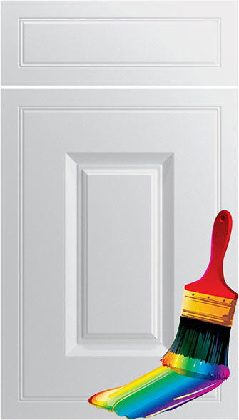 Ticehurst Paintable Vinyl Kitchen Doors