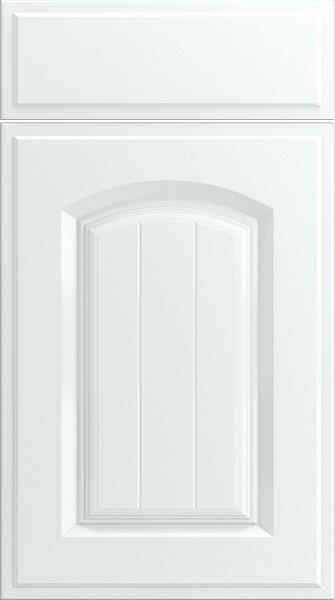 Wadhurst Silk White Kitchen Doors