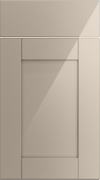 Washington High Gloss Cashmere Kitchen Doors