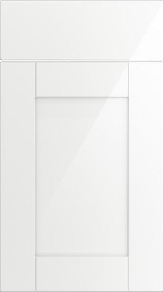 Washington High Gloss White Kitchen Doors