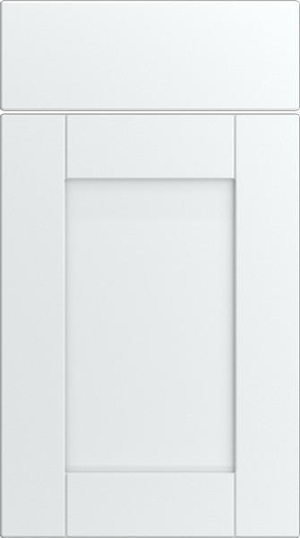 Washington Silk White Kitchen Doors