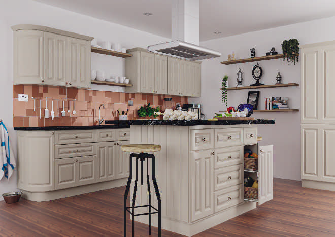 Amberley High Gloss Dakar Kitchen Doors