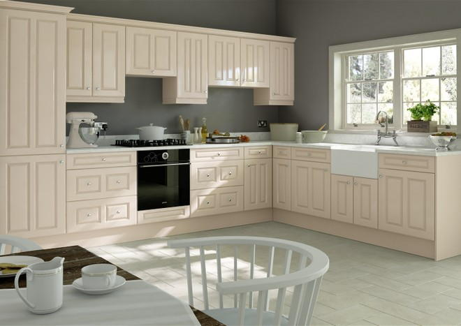 Amberley Mussel Kitchen Doors