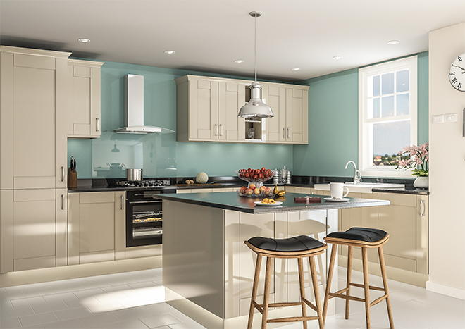 Arlington High Gloss Dakar Kitchen Doors