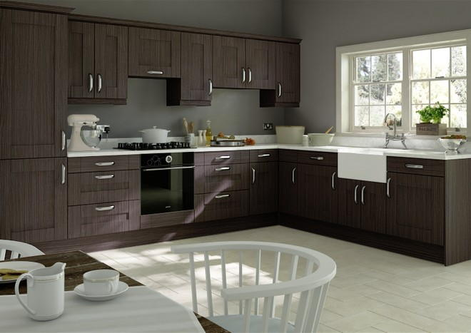 Arlington Melinga Oak Kitchen Doors