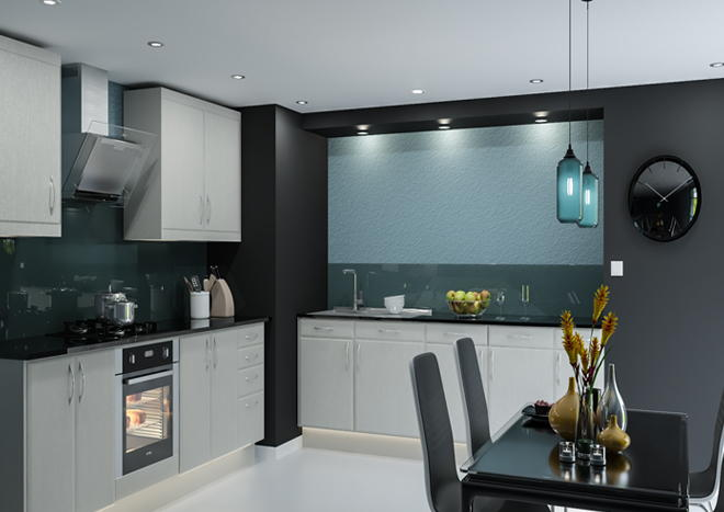 Brighton Legno Quartz Kitchen Doors