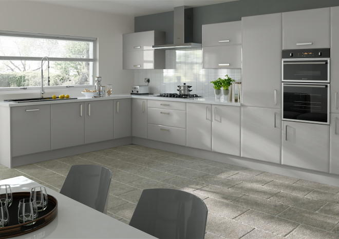 Brighton Light Grey Kitchen Doors