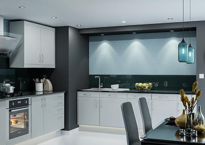 Brighton TrueMatt Light Grey Kitchen Doors