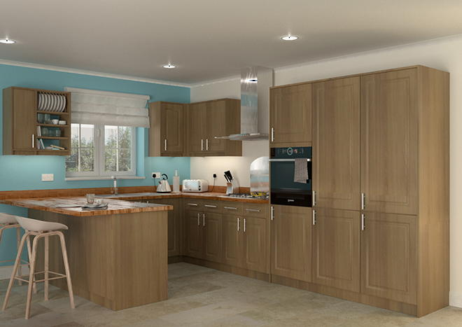 Buxted Beech Kitchen Doors
